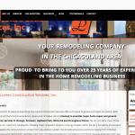 Lorenc Construction web site design