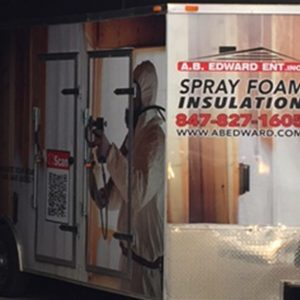 Spray Foam Truck Wrap