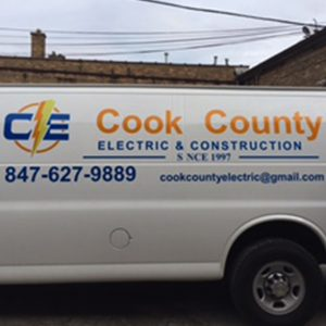 Cook County Car Wrap
