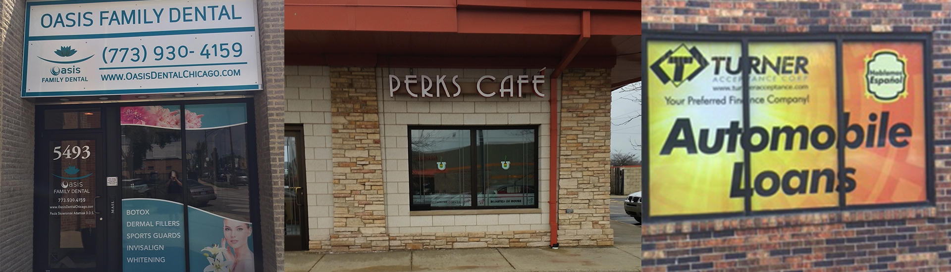 signs perks cafe